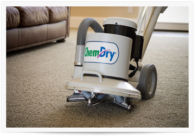 chem-dry equipment doing a carpet cleaning in sandy springs ga