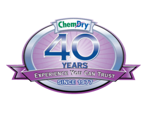 chem-dry 40 years of experience you can trust badge