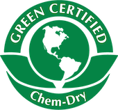 green certified chem-dry badge