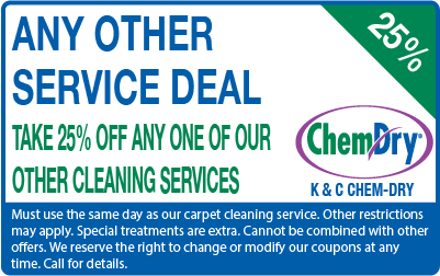 25% off any other cleaning service coupon
