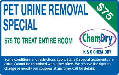 Pet Urine Removal special for $75 coupon