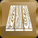k&c chem-dry wood floor cleaning icon