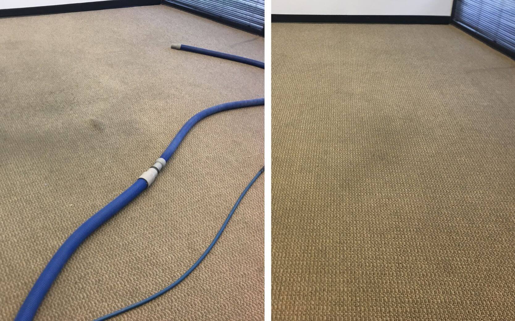 office carpet before and after carpet cleaning in sandy springs ga
