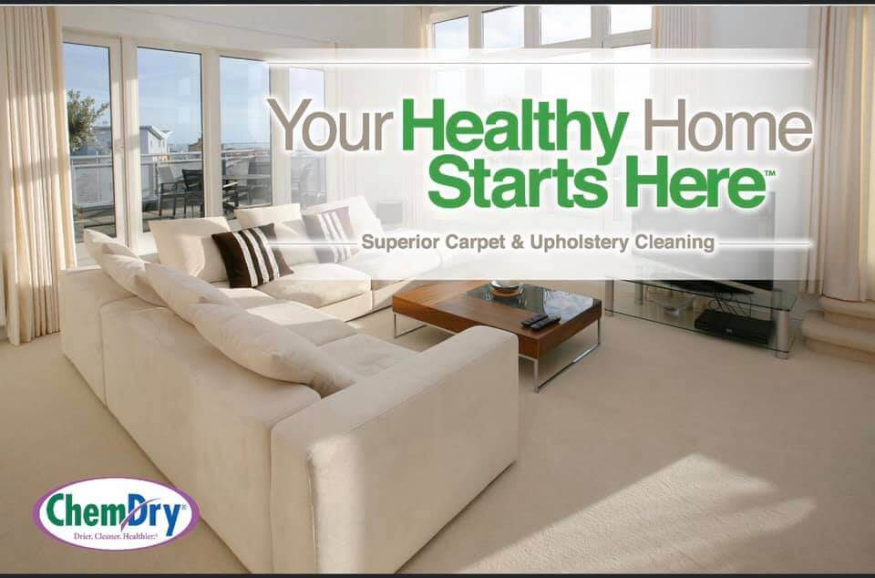 your healthy home starts here graphic