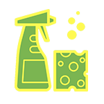 cleaning solution icon